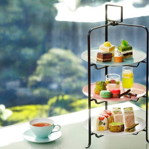 ニューオータニ東京 新アフタヌーンティーセット~抹茶とメロンとチョコレート~