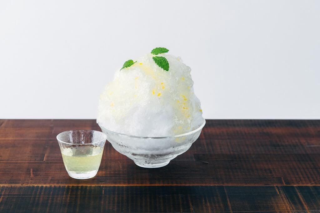 AKOMEYA食堂 かき氷 檸檬ジュレ