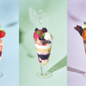 【期間限定】ビブリオテークで月替わりの夏パフェを味わえる3カ月のパフェフェアがスタート!