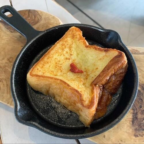 パンとエスプレッソと自由形 杏仁ミルクフレンチトースト