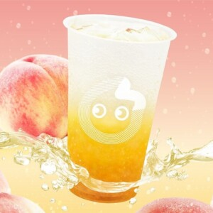 【期間限定】CoCo都可でピーチのシャキシャキ食感にシュワっと爽快な「ピーチソーダ」発売!初の炭酸飲料