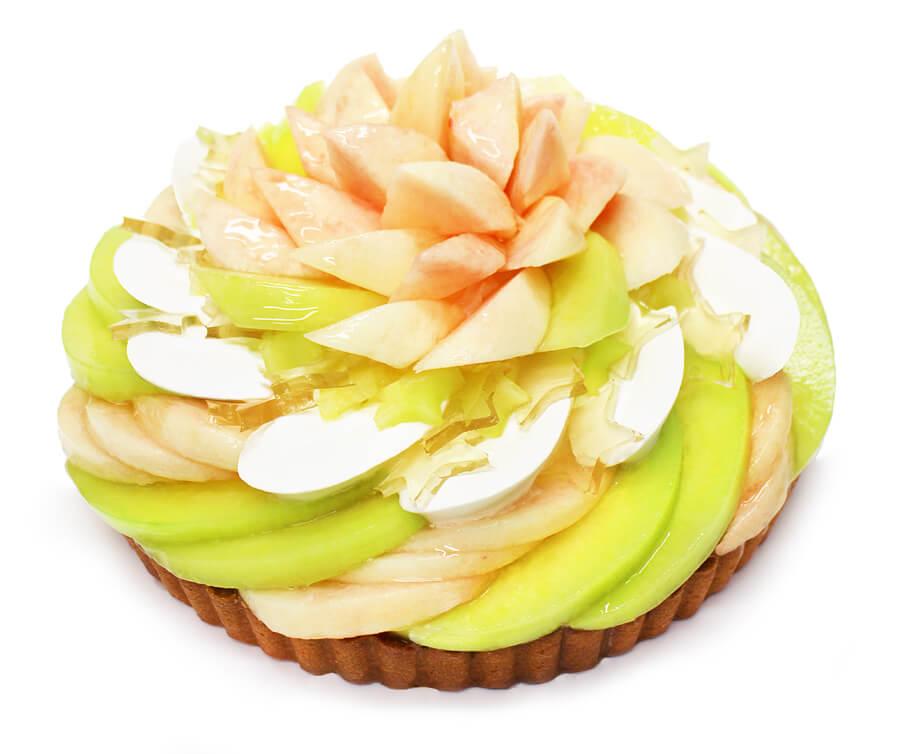 彦星 — ももとメロンのケーキ —