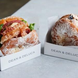 【新作】DEAN & DELUCAで焼きドーナッツでつくる2種のサンドウィッチ「ドーナツサンド」が新発売!
