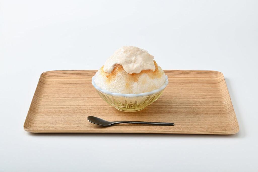 Nihonbashi E-Chaya 桃とクリームチーズ ~川中島白桃のエスプーマ~