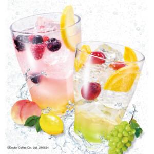 【新作】エクセルシオールカフェでりんご酢を使った炭酸ドリンク「ビネガーソーダ」2種を発売!