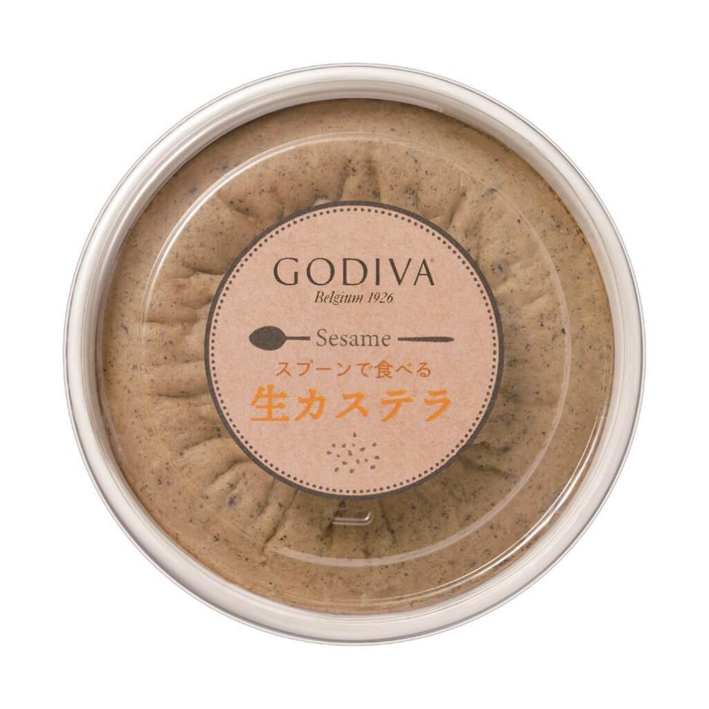 ゴディバ スプーンで食べる生カステラセサミ