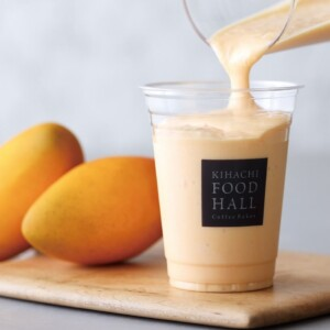 KIHACHI FOOD HALL Coffee Bakes マンゴーミルクジュース
