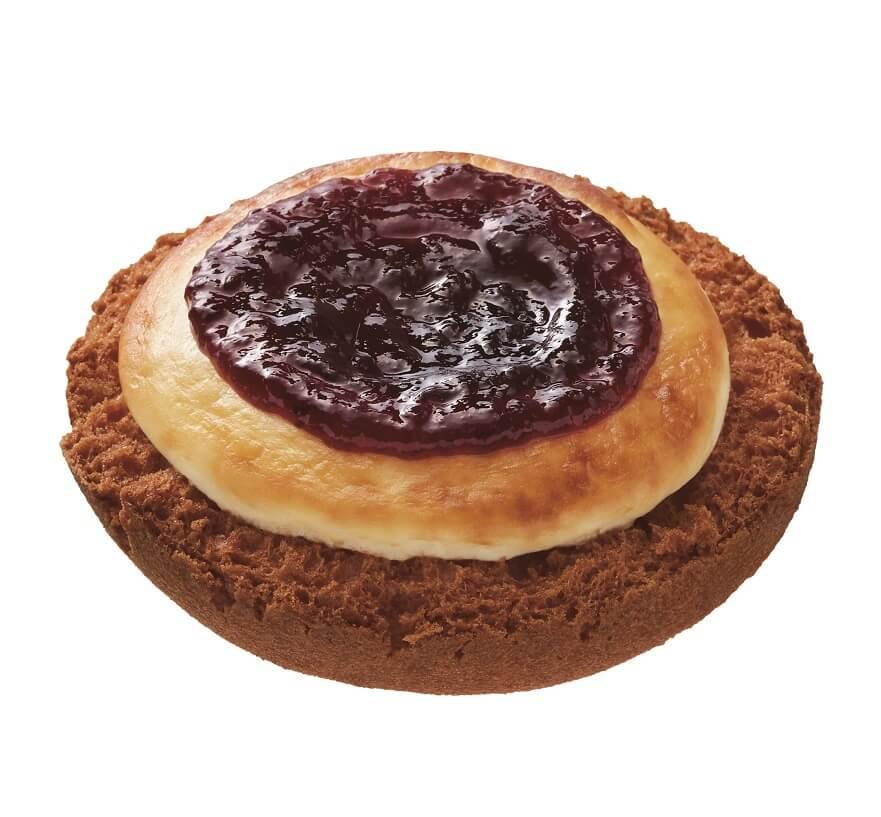 misdo meets BAKE & ZAKUZAKUベイク チーズタルトドーナツブルーベリー