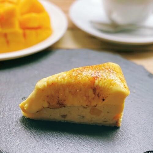café dining nurikabe 夏の香るチーズケーキマンゴー