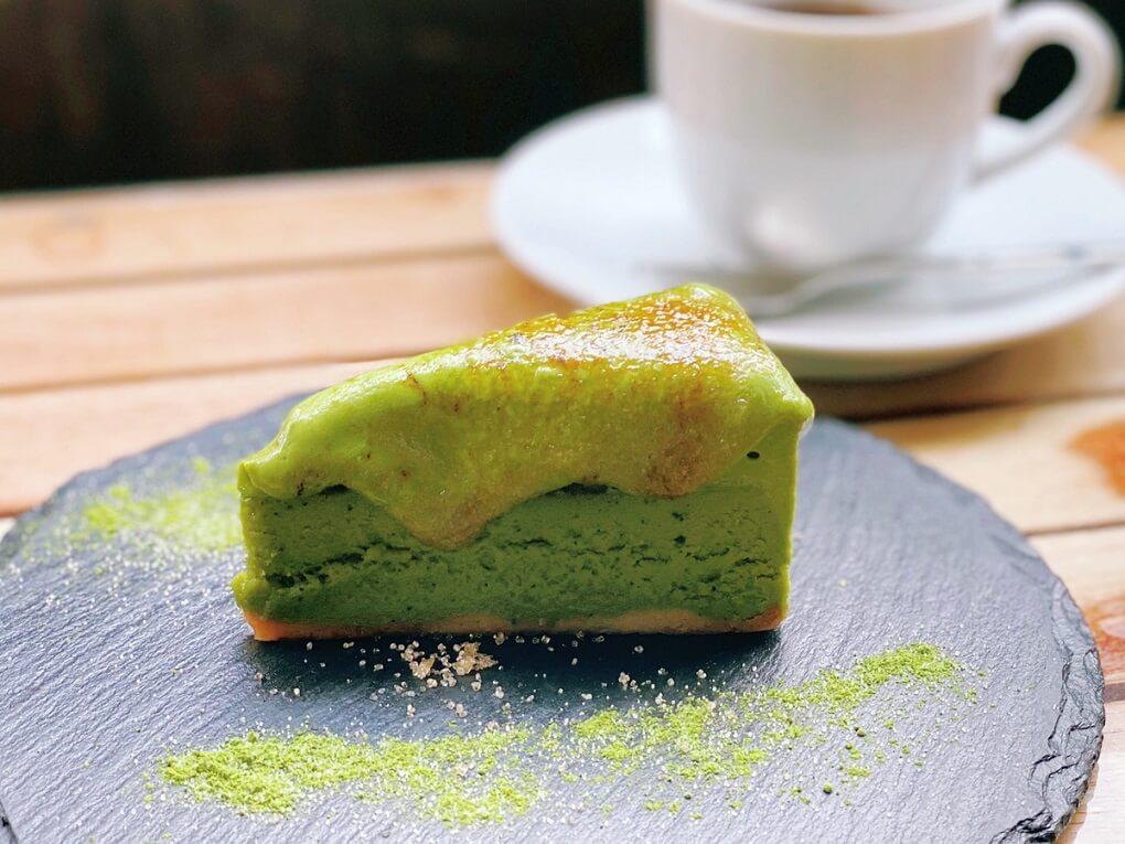 café dining nurikabe 香るチーズケーキ抹茶