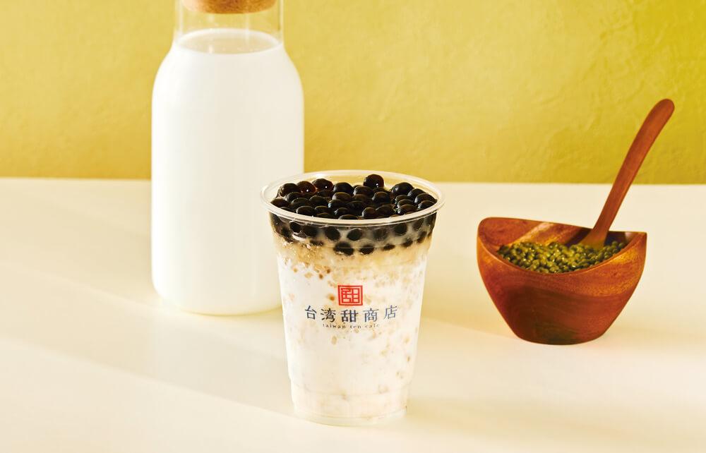 台湾甜商店 緑豆ミルクスムージー