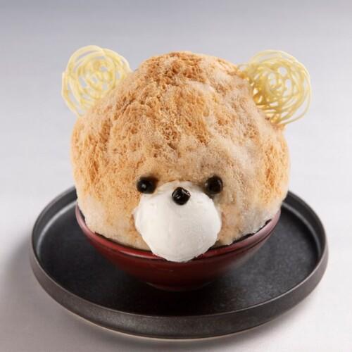Terrace Dining TANGO かき氷 ぷりんがすきなクマ