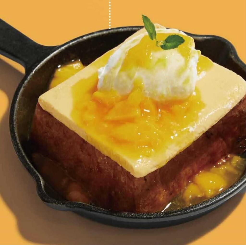 パンとエスプレッソとまちあわせ マンゴーフレンチトースト