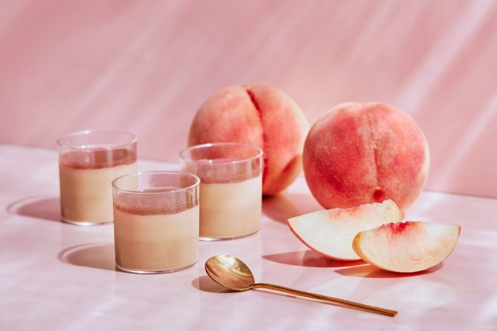 メゾンカカオ 生チョコプリン 白桃と紅茶