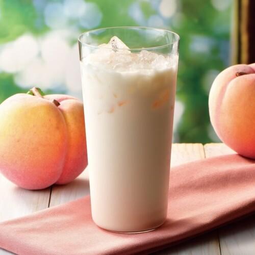 カフェドクリエ 国産白桃の爽やかラッシー