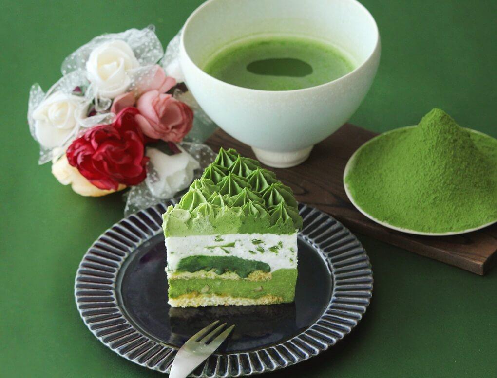 d:matcha Kyoto 濃厚宇治抹茶アイスケーキ