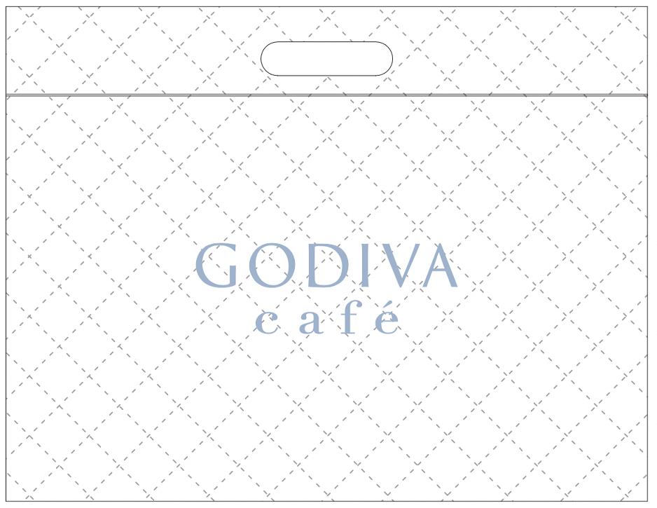 GODIVA café Ginza 保冷バッグ
