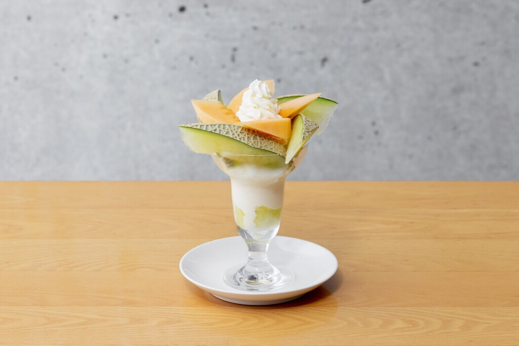 フルーツパーラーゴトー 2種のメロンのパフェ