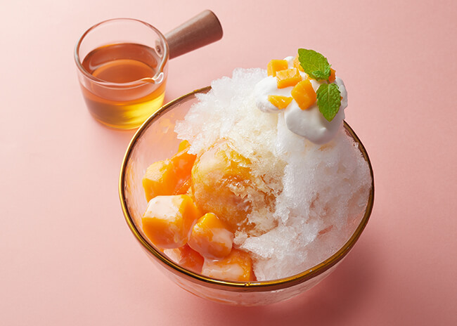 LaTREE(ラ・ツリー) 果茶果酒 ジャスミン茶の隠れマンゴーかき氷