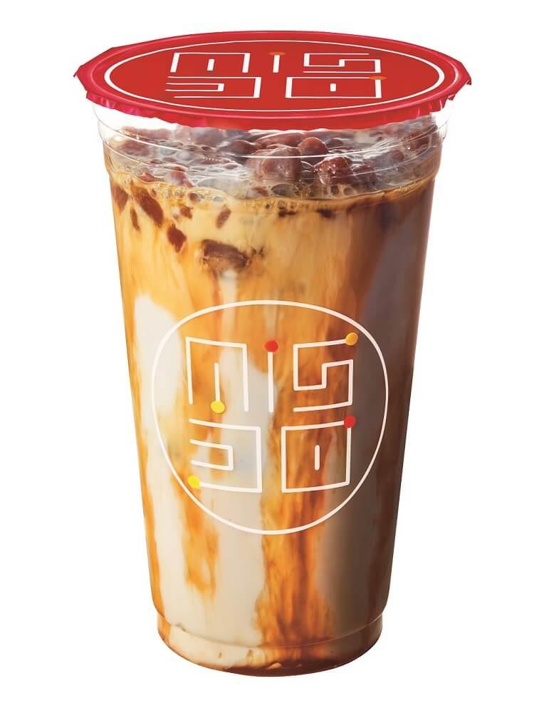 ミスド ダブル氷コーヒー  キャラメル