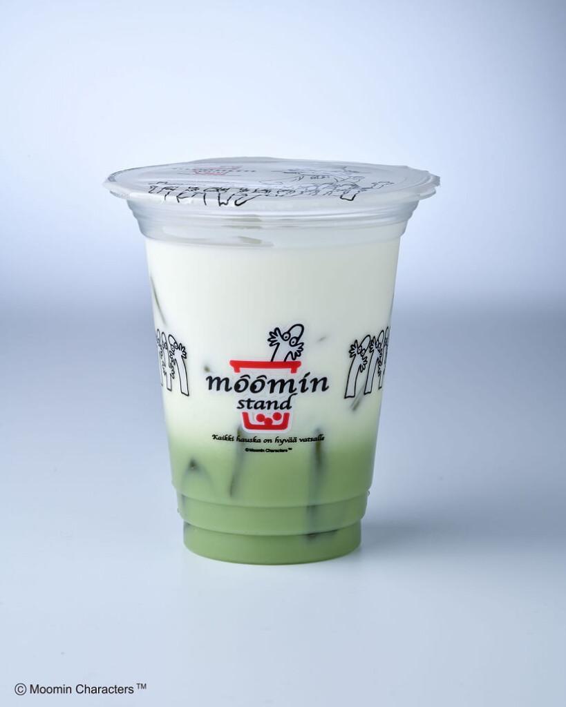 ムーミンスタンド 宇治抹茶ミルク