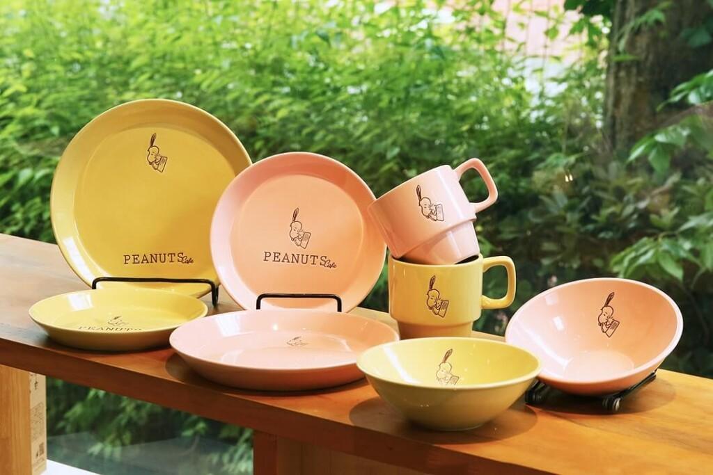 PEANUTS Cafe SUNNY SIDE kitchen 食器