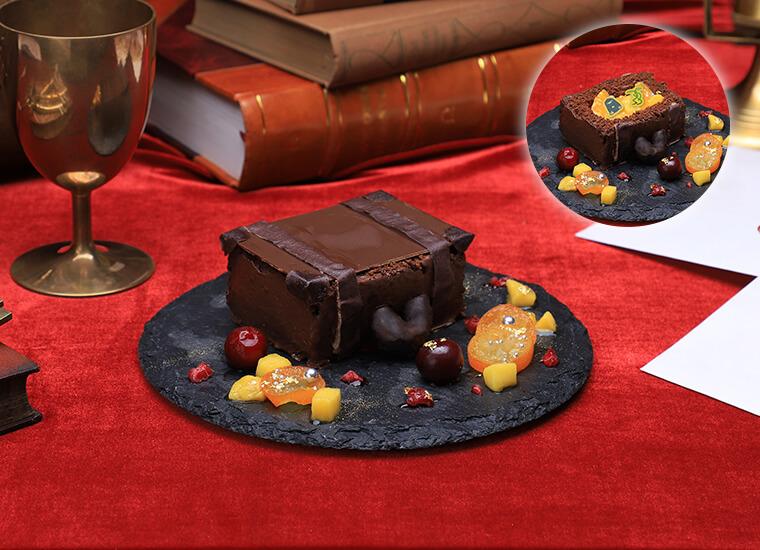ハリーポッターカフェ 魔法のトランクケーキ