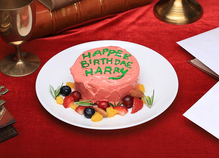 ハリーポッターカフェHAPPEE BIRTHDAE ケーキ