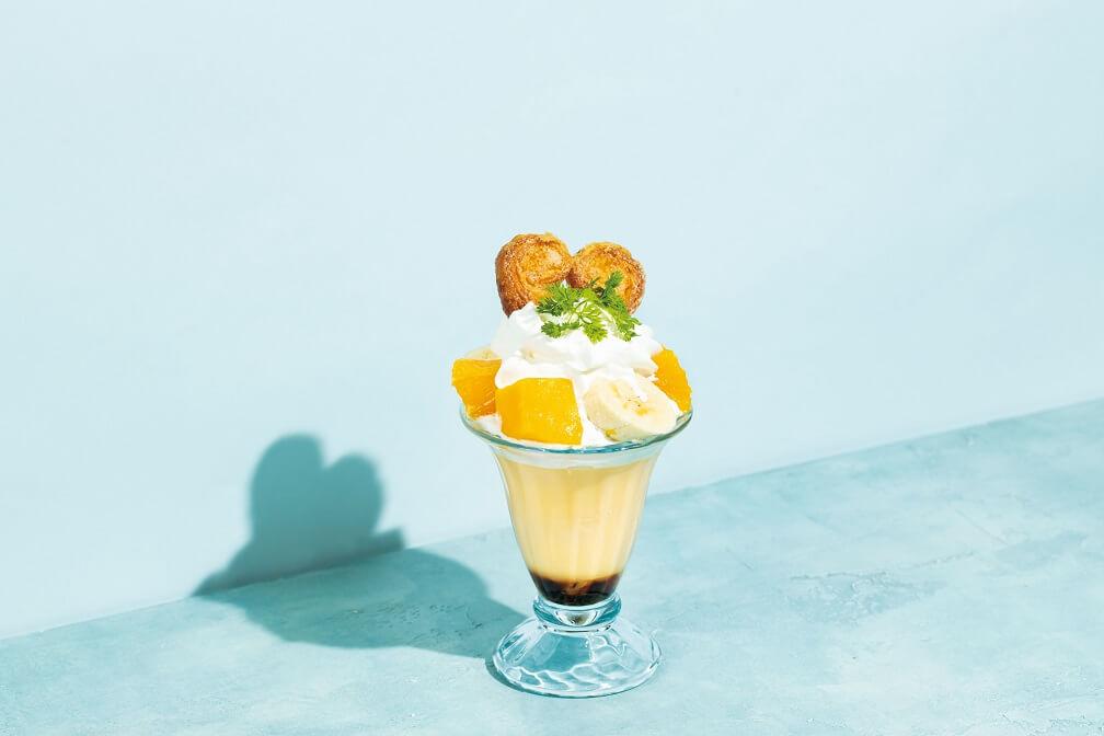 エッグセレント 『たまごやさんのフルーツプリンパフェ』