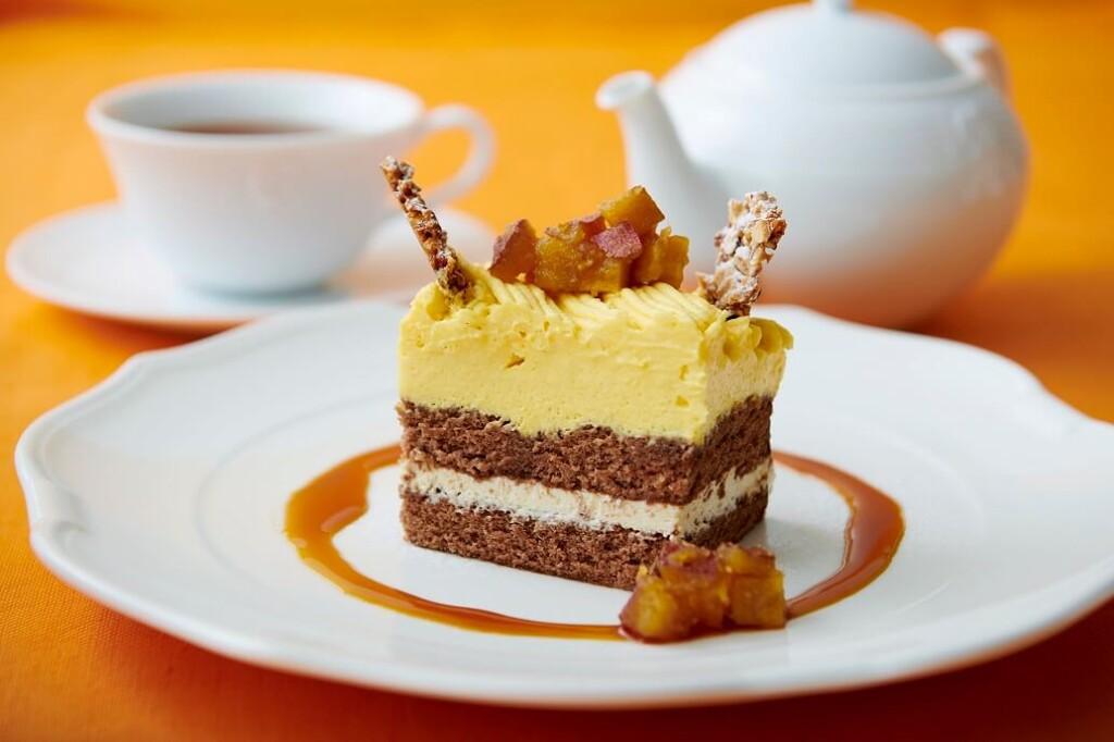Afternoon Tea TEAROOM スイートポテトのショートケーキ