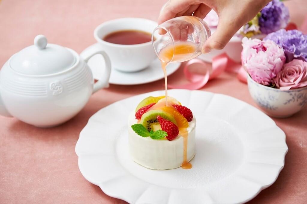 Afternoon Tea LOVE&TABLE スイートフルーツティーのショートケーキ