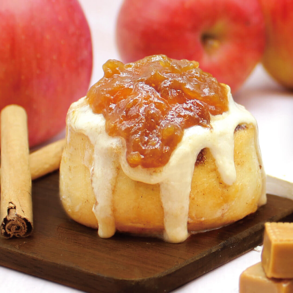 シナボン キャラメルりんごミニボン