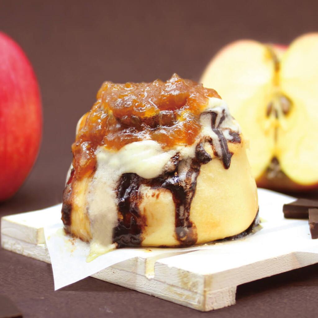 シナボン キャラメルりんごチョコボン