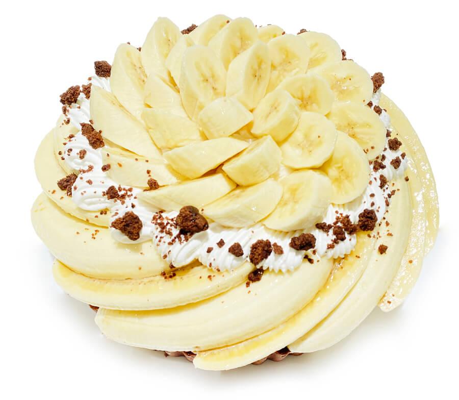 コムサ フィリピン産バナナ「甘熟王」とチョコクランチのケーキ
