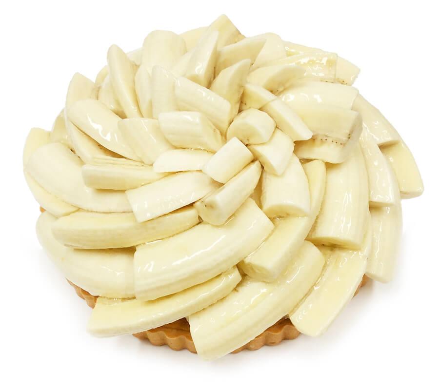 コムサ 「甘熟王ゴールドプレミアムバナナ」のベイクドバニラチーズケーキ