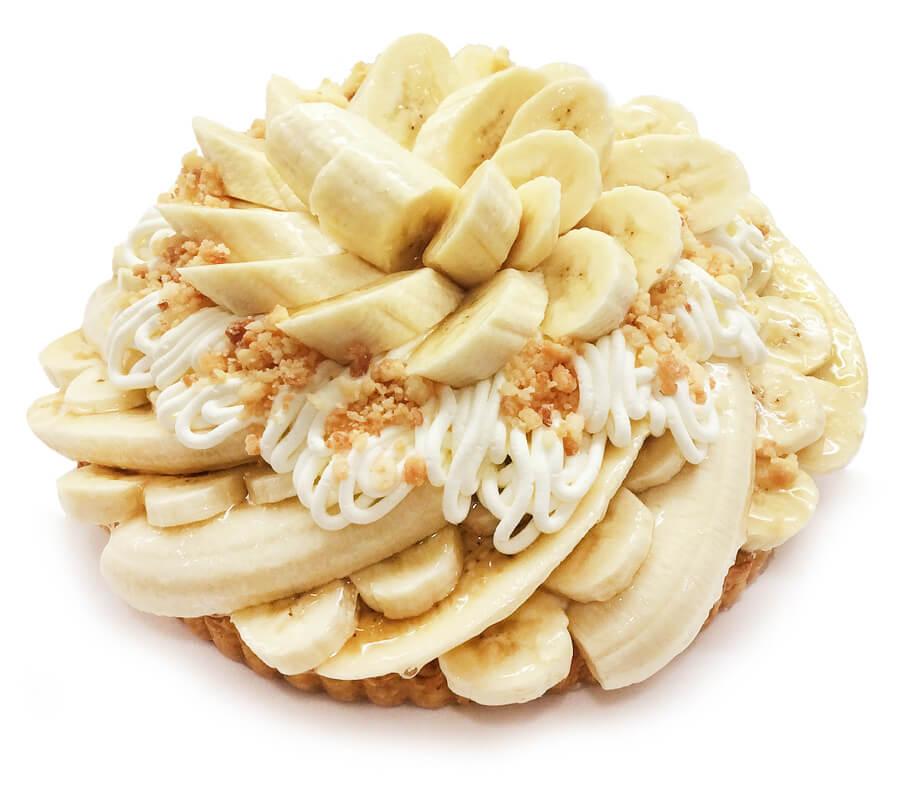 コムサ フィリピン産バナナ「甘熟王」のチーズモンブラン