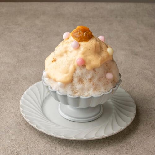 「DRAWING HOUSE OF HIBIYA」『福井県 完熟梅とほうじ茶のかき氷』
