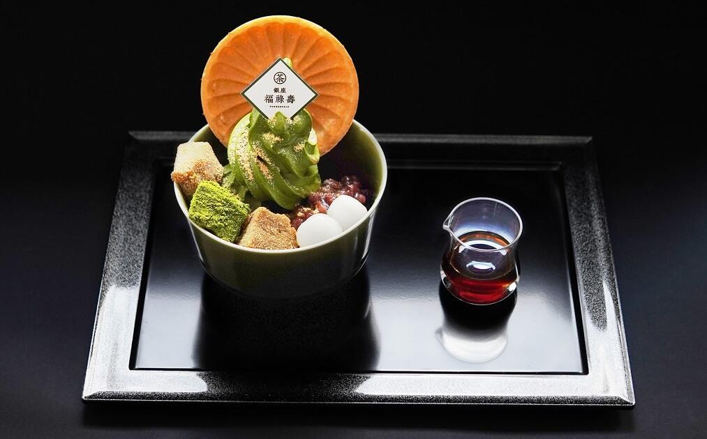 銀座福祿壽 抹茶ソフトわらび餅