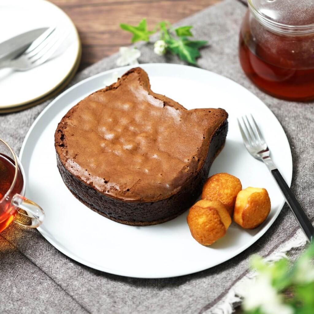 ねこねこチーズケーキ 『黒猫ショコラセット』