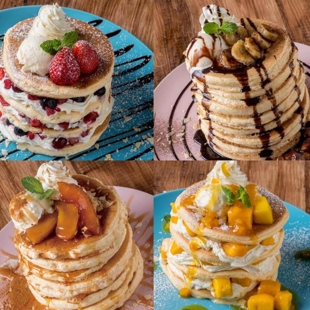 高木珈琲 デコレーションパンケーキ