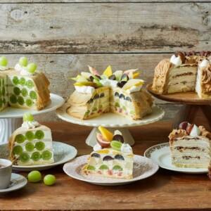 【期間限定】Afternoon Tea LOVE&TABLEでシャインマスカット、巨峰などの秋のホームメイドクレープ&ドリンクを発売!