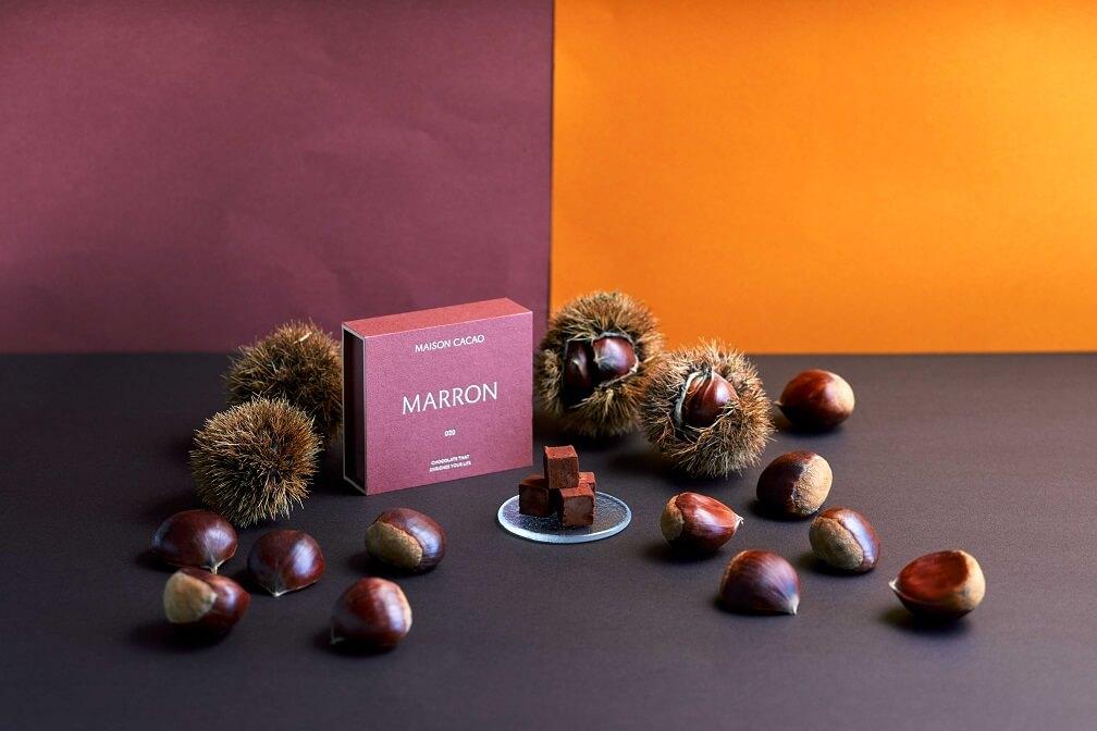 メゾンカカオ アロマ生チョコレート MARRON