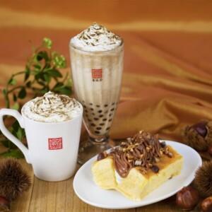 【期間限定】春水堂で旬の栗を使った「ほうじ茶マロン」のタピオカドリンク&台湾カステラを発売