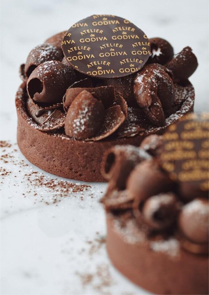 アトリエドゥゴディバ ゴディバ チョコレート タルト