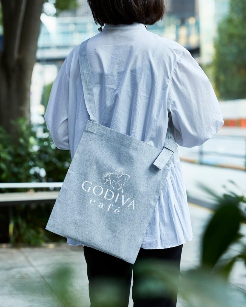 GODIVA café Nihonbashi オープン記念バッグ