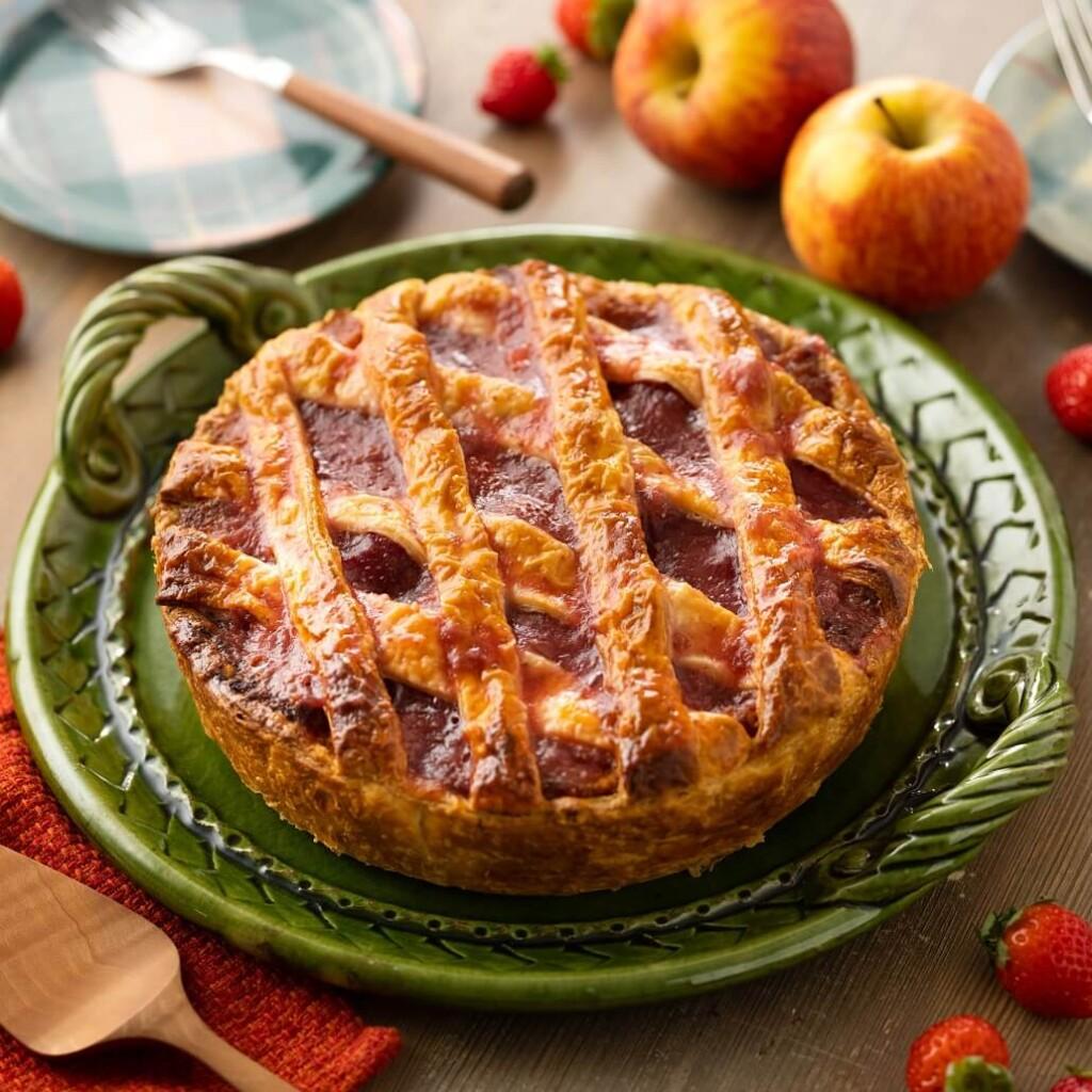 いちびこ いちごとりんごの重ねパイ