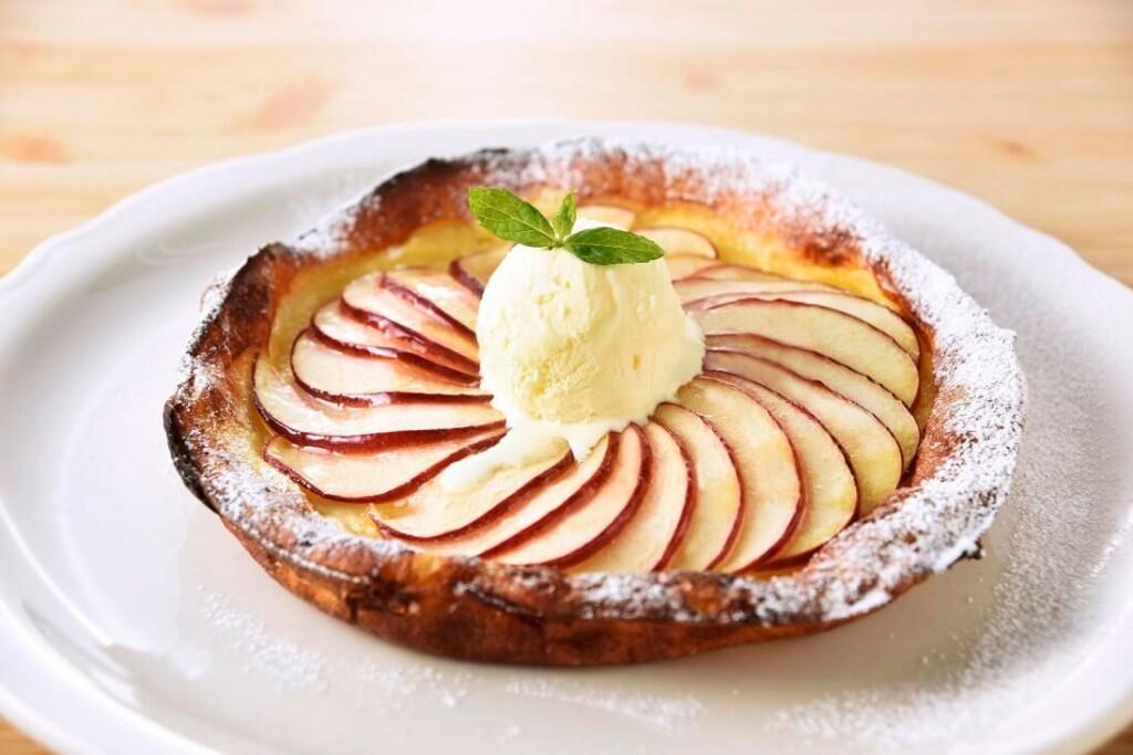 オリジナルパンケーキハウス アップルダッチベイビー