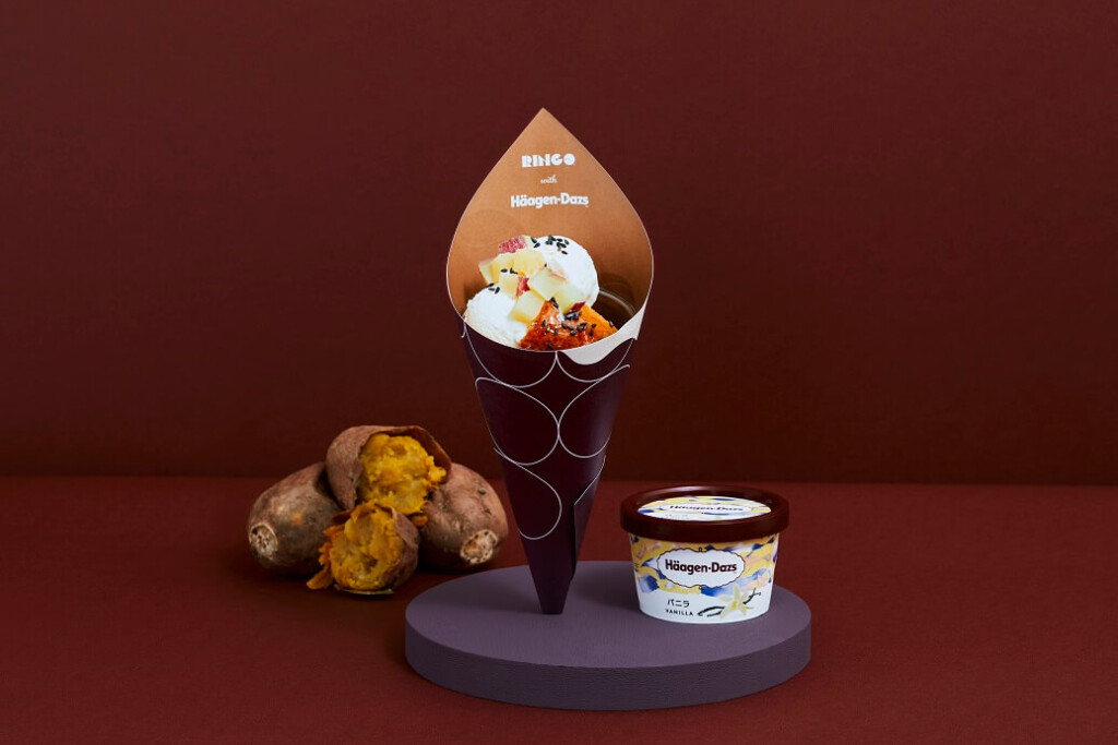 RINGO 安納芋アップルパイバニラアイスクリームサンデー