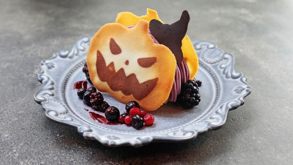 『毛利 サルヴァトーレ クオモ』 おばけかぼちゃのモンブラン