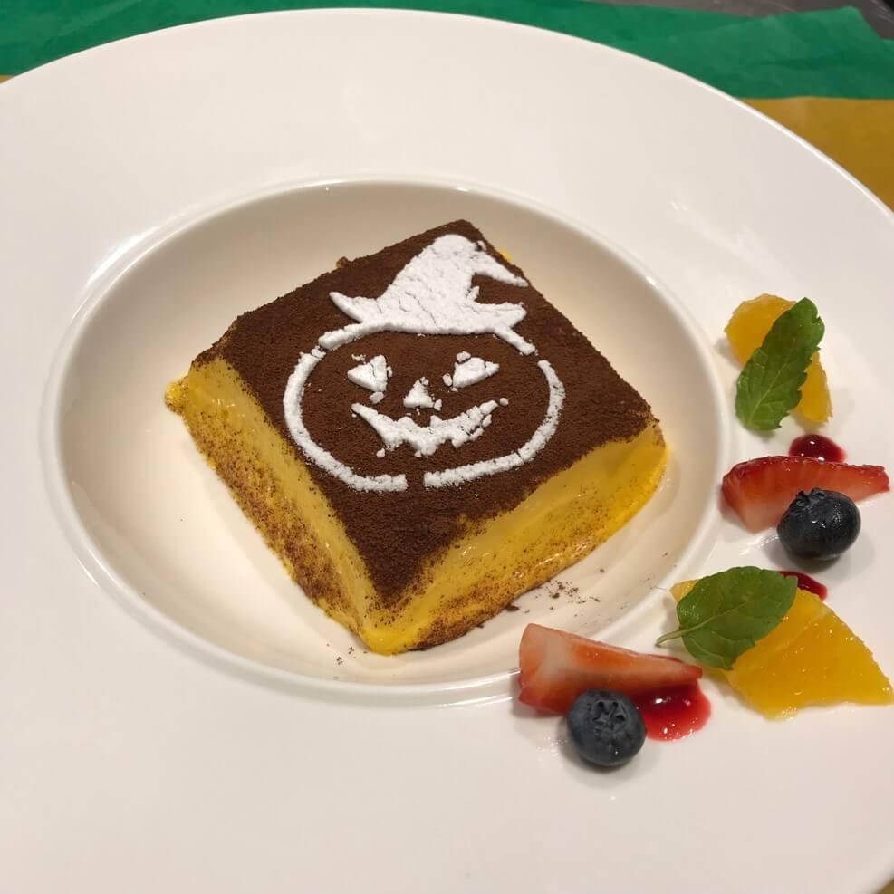 グランドフードホール『かぼちゃのティラミス』